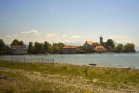 Hotel gefunden am Boden des Sees